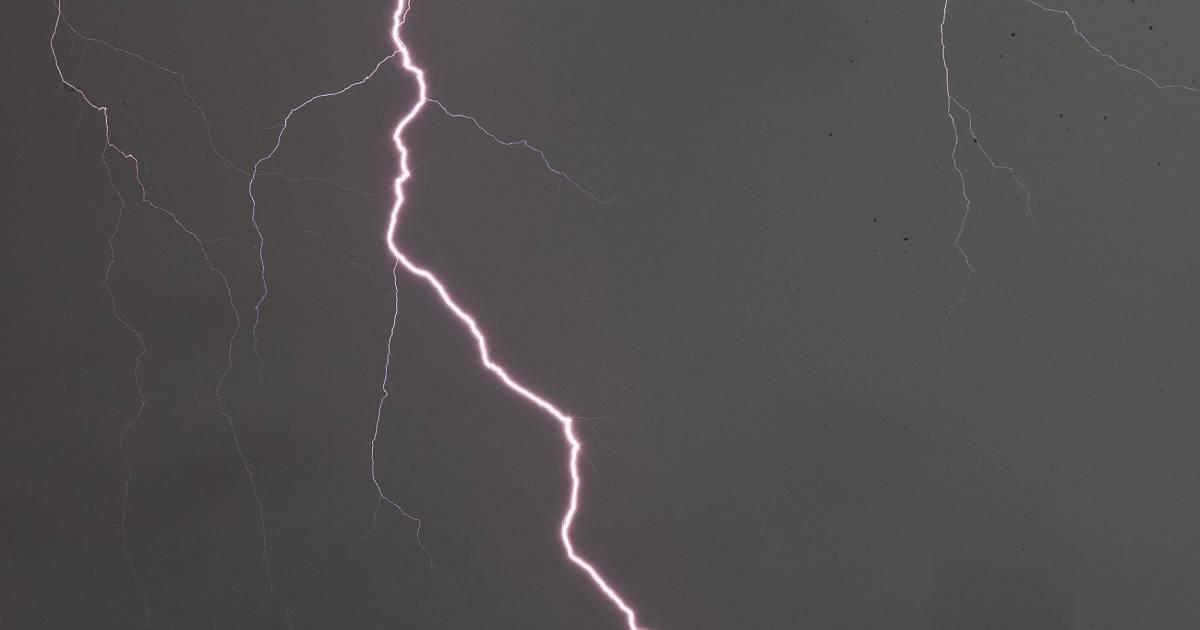 Christ Redeemer Lightning Strike