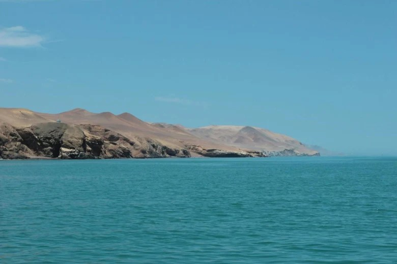 Image: Paracas, a desert reserve located near Las Islas Ballestas.