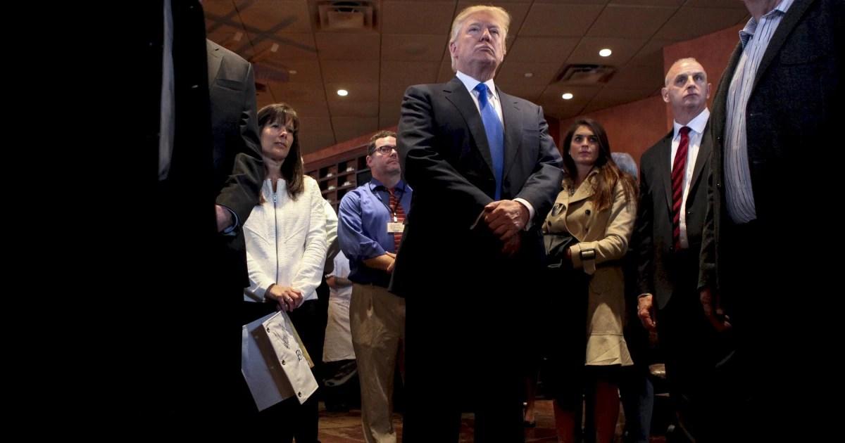 Trumps Troubles Cast a Shadow on GOPs Senate Hopes  NBC