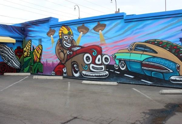 Phoenix Murals Turn Immigration Controversy Latino