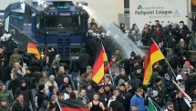 Immigration Protests Against Germany