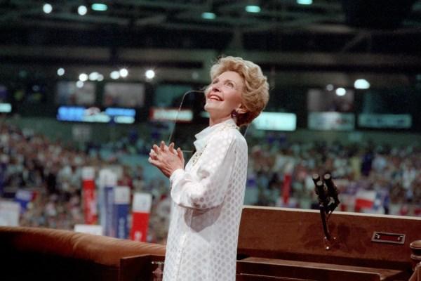 Nancy Reagan Life Hollywood White House