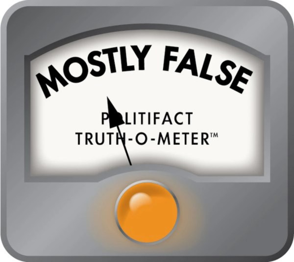 Clinton Claim on Small Donors is 'Mostly False ...