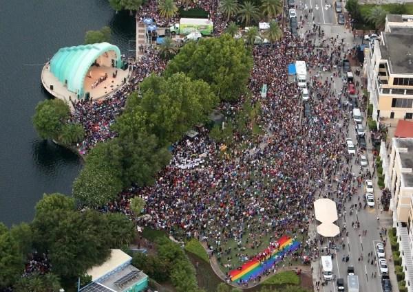 Image: Orlando vigil