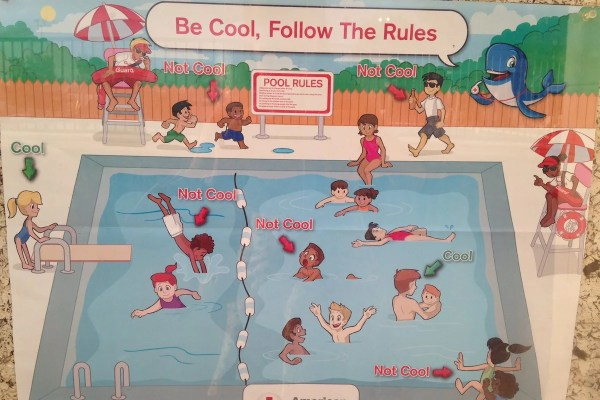'racist' Pool Safety Poster Brings Red Cross Apology - Nbc