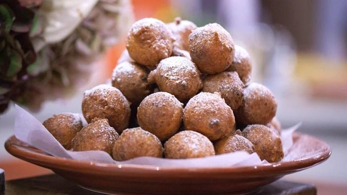 Tony Alberti's Sweet Ricotta Fritters