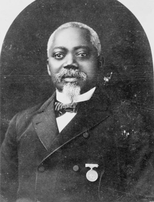 Image: Sgt. William Carney is seen circa 1900.