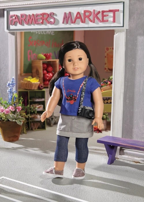 The new Korean-American American Girl is named Z. Yang.