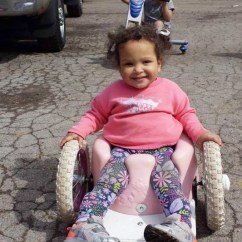 Best Chair After Back Surgery Swivel Office Plans Girl With Spina Bifida Inspires Family To Make Wheelchairs - Today.com