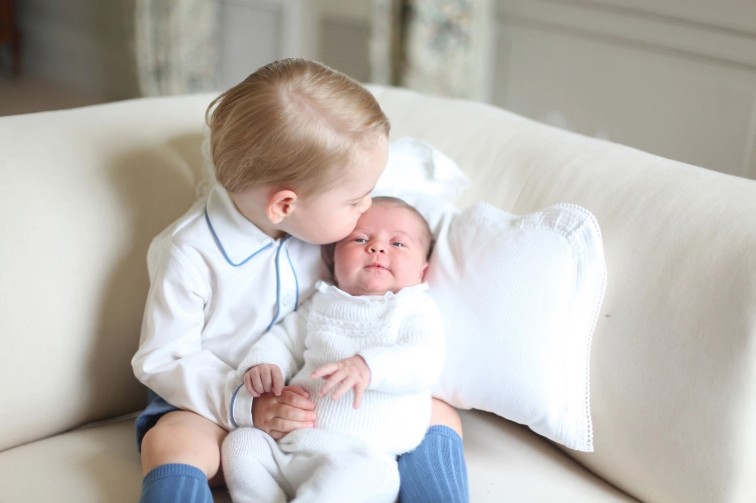 Princess Charlotte about to turn 2; new photo released