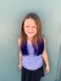 Is it safe for kids to dye their hair with wild colors ...