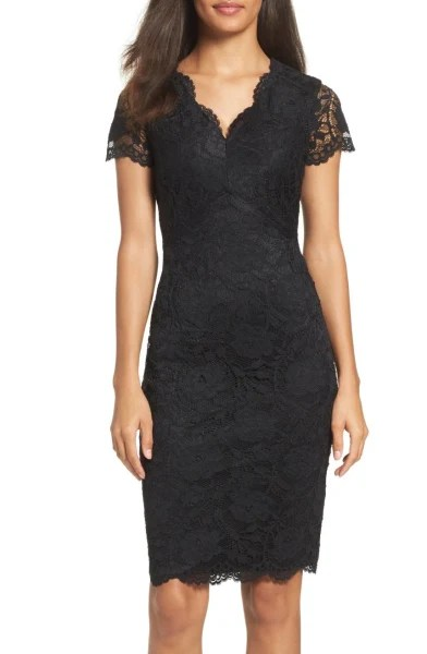 Lace Sheath dress Nordstrom