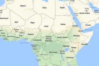 Image: Landlocked Chad lies in central Africa.