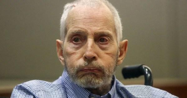 robert durst Judge orders Robert Durst to stand trial in murder of