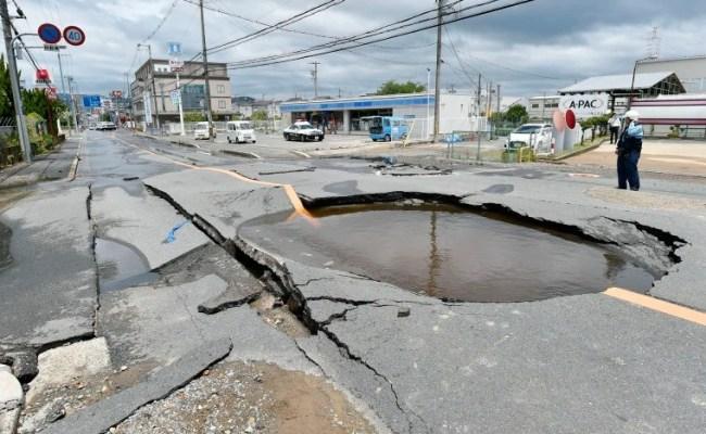Japan Earthquake Kills 4 And Raises Fears Of Aftershocks