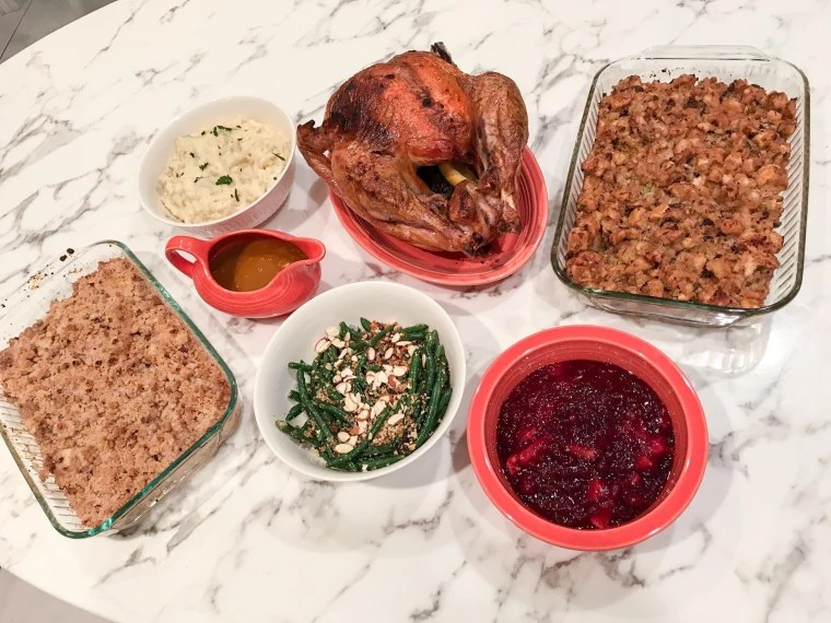 HelloFresh Thanksgiving meal kit review and it's worth it
