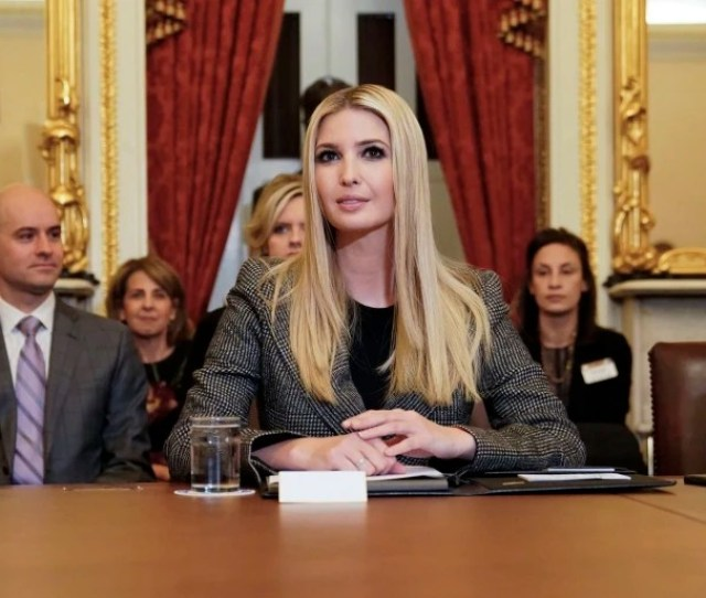 Image Ivanka Trump Speaks During A News Conference To Discuss Build Act Implementation At The