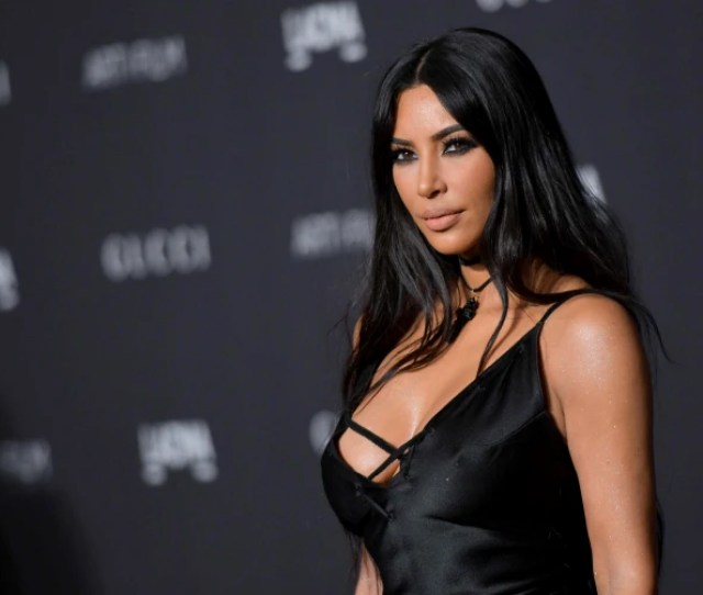 Kim Kardashian Arrives For The 2018 Lacma Artfilm Gala In Los Angeles On Nov