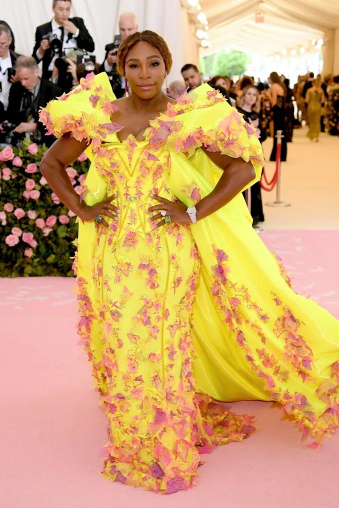 Serena Williams, 2019 Met Gala, red carpet