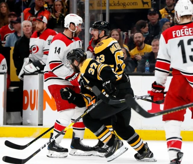 The Boston Bruins And Brad Marchand Are Bringing The Nhl Back To
