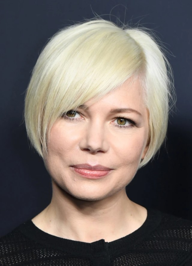 michelle williams has a blunt bob now — see her new look!