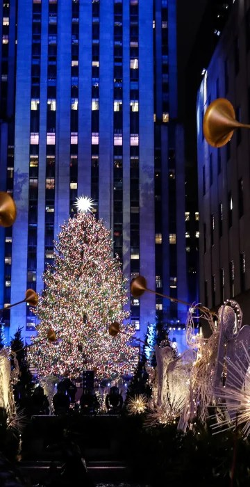 Photos The Rockefeller Center Christmas Tree S Journey To The Big City