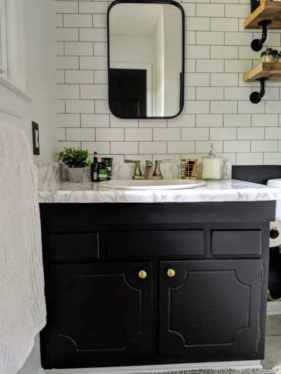 how 1 homeowner used subway tile in her
