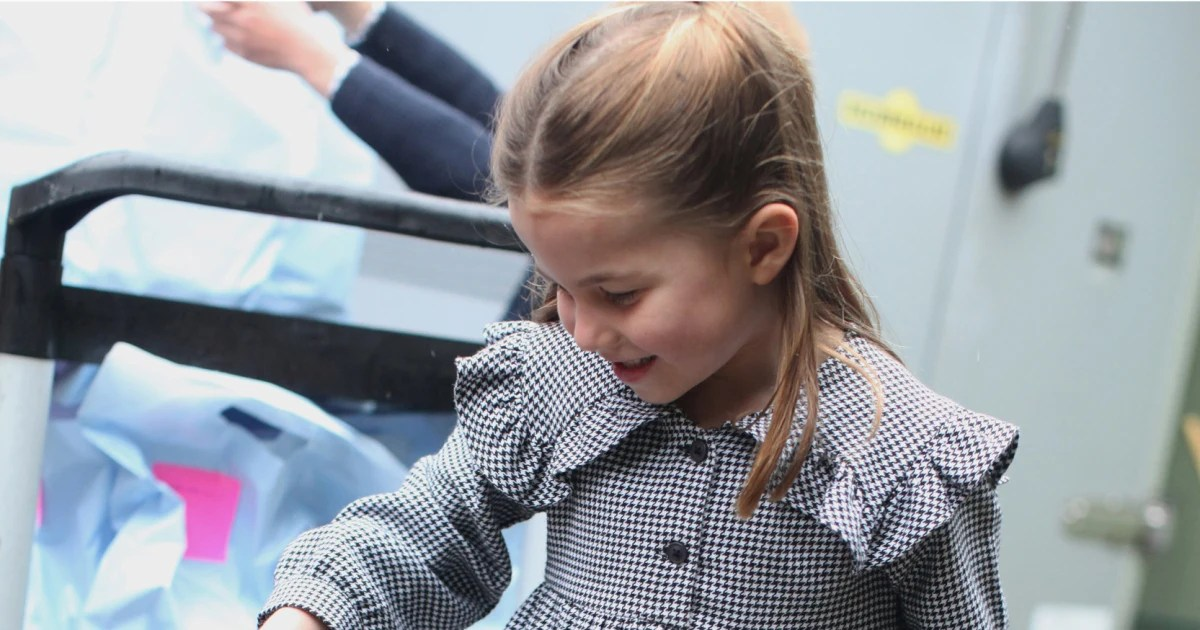 U.K.'s Princess Charlotte turns 5. parents release pictures of her handing out coronavirus aid