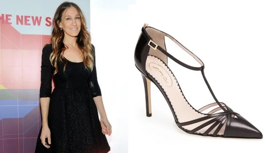 "The ""Carrie"" pump from Sarah Jessica Parker's collection for Nordstrom."
