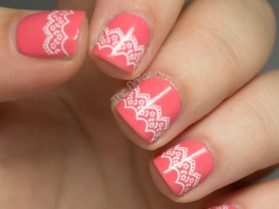 Beautiful Bridal Nail Art Designs 2016 11