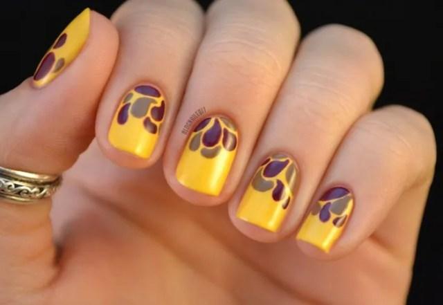 Thanksgiving Nail Art Ideas 2017