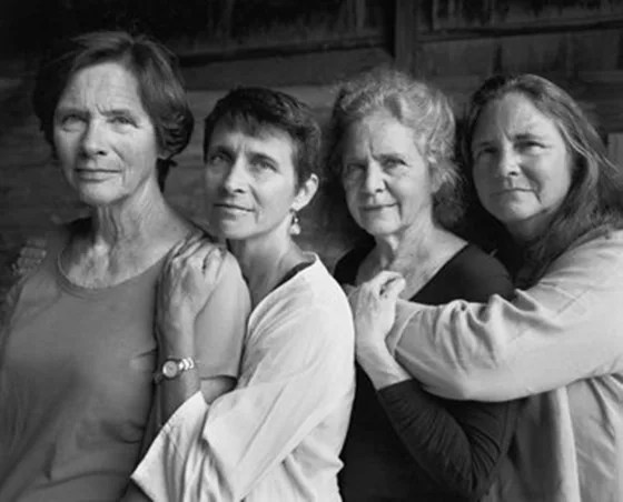 The Brown sisters, in 2014.