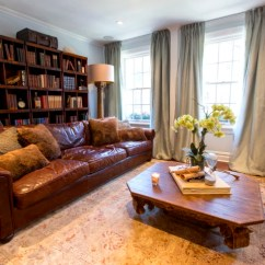 Brown Leather Couch Living Room Colors Ideas Pictures At Home With Today: Inside Tara Lipinski's 'cozy' ...