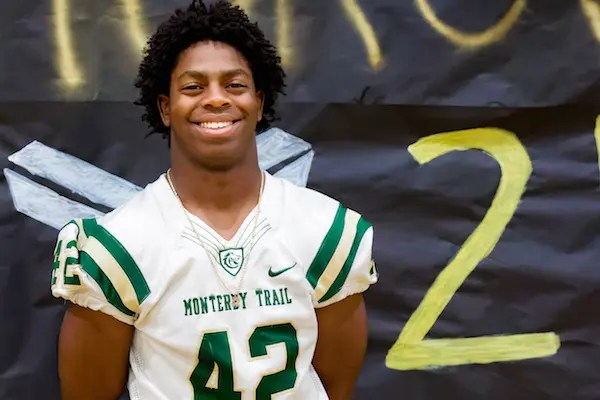 Marcus Jones, Monterey Trail, Football