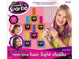 shimmer n sparkle neon glow hair chalk online in south africa takealot