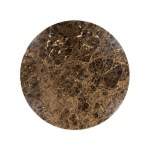 Cream And Brown Marble Coffee Table Carlotta The Socialite Family