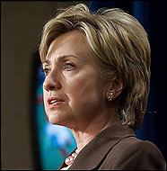 The author fixates on Hillary Rodham Clinton's