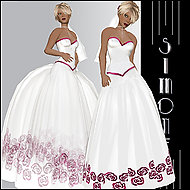 Veronica Brown is able to make a living selling her digital fashions in the online world Second Life.