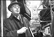 Saul D. Alinsky, the Chicago community organizer whose ideas intrigued and influenced Hillary Rodham and Barack Obama as they began their careers.