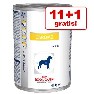 12 x 410 g Royal Canin Cardiac - Veterinary Diet, 11 + 1 ...