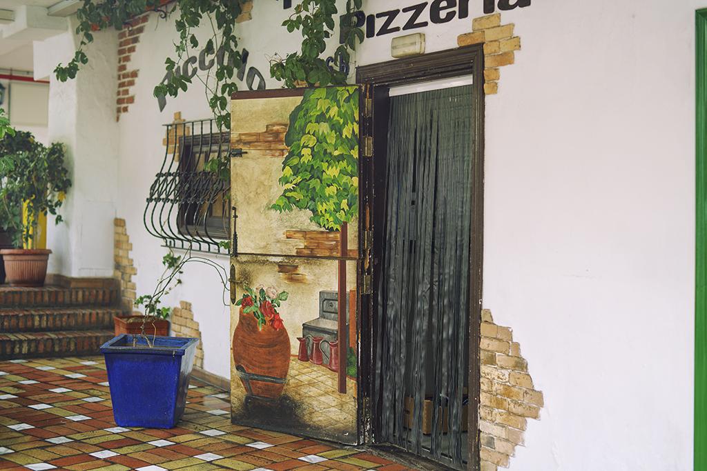 Gemytlig miljö i spansk stil