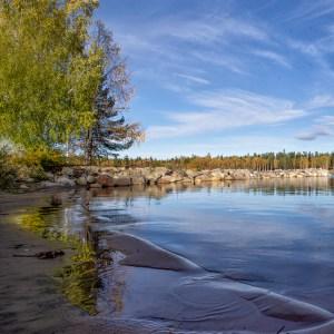 Hösthamn i Luleå