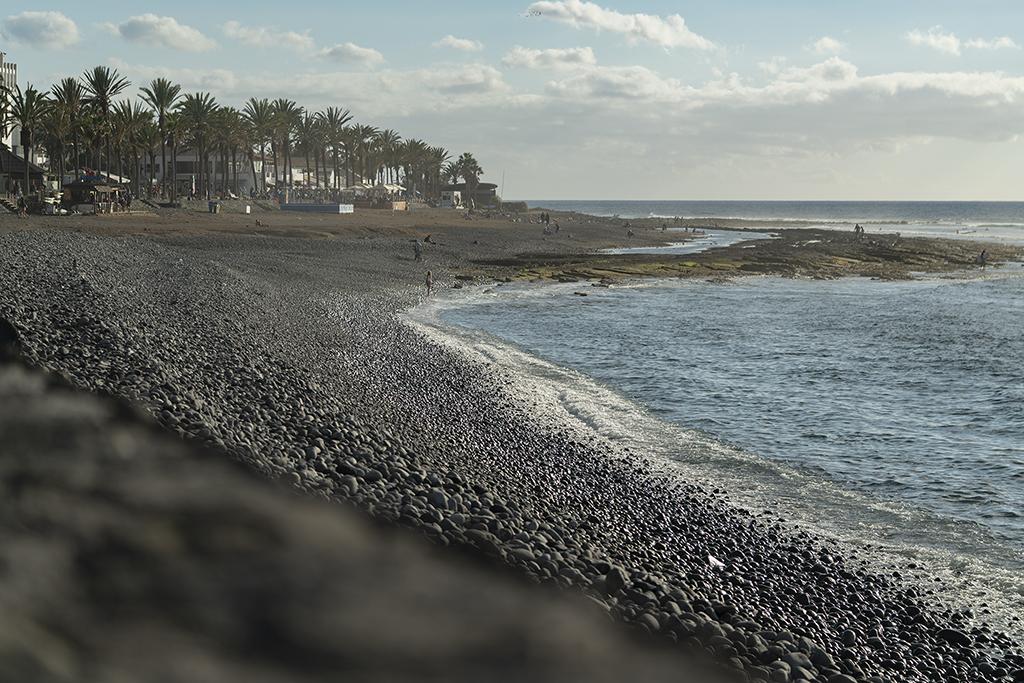 Strandkanten kan vara kantigt hård