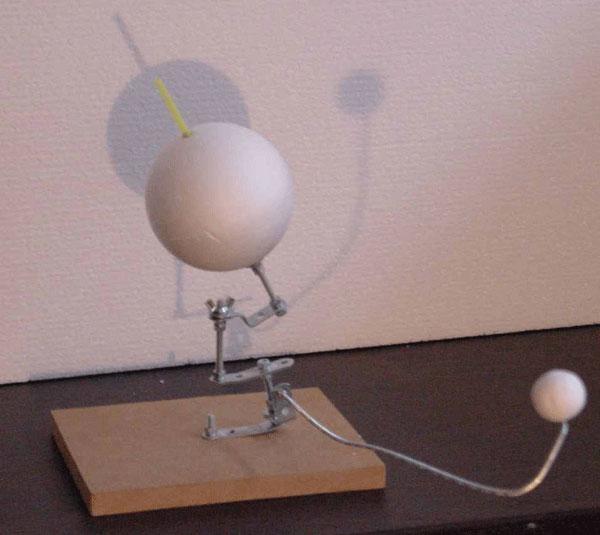 Maquette Soleil Terre Lune  Page pour limpression