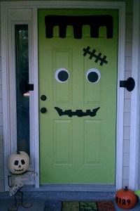 Halloween Door Decorating Ideas Office Image | yvotube.com