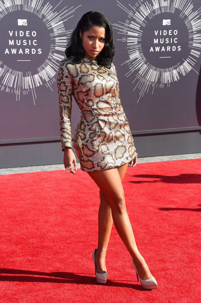 Nicki Minaj at the 2014 MTV VMAs