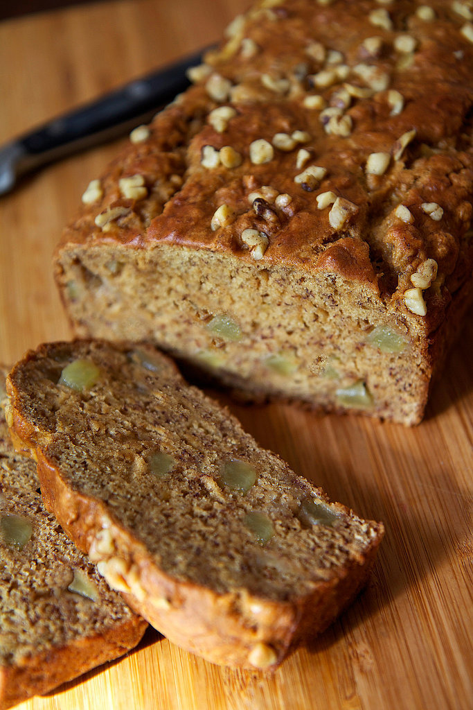 instead of a traditional banana bread recipe try our apple