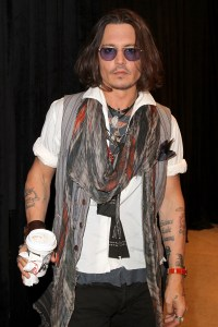 Johnny Depp. Just phoning it in at this point?