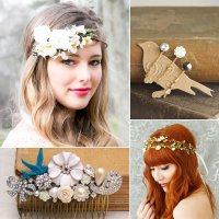 40+ Bridal Hair Accessories From Etsy | POPSUGAR Beauty ...