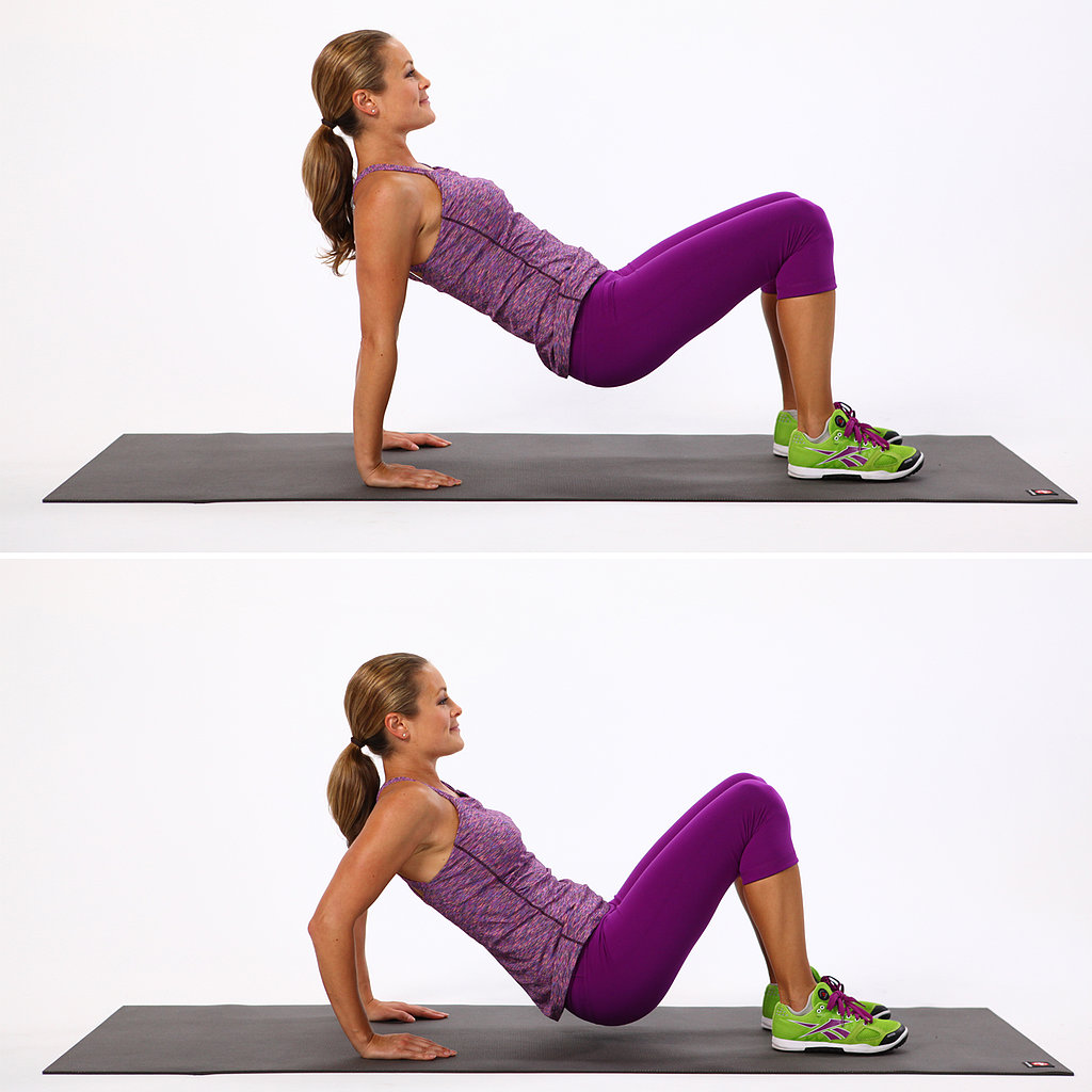 chair exercise gif dining covers bunnings triceps dip | can you do these 8 basic moves? popsugar fitness